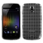 Samsung Galaxy Nexus T-Clear Argyle Pane Candy Skin Cover