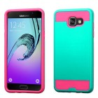 Samsung Galaxy A5 Teal Green/Hot Pink Brushed Hybrid Case
