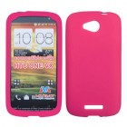 HTC One VX Solid Skin Cover (Hot Pink)