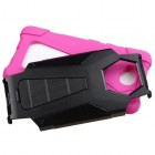 Nokia Lumia 650 Hot Pink Inverse Advanced Armor Stand Case