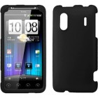 HTC Hero S/EVO Design 4G Rubberized Snap-On Cover, Black