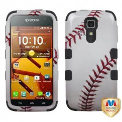 Kyocera Hydro Life / Hydro Icon Baseball-Sports Collection/Black Hybrid Case