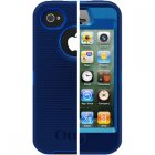 OtterBox iPhone 4S/4 Defender Case, Night Sky (Ocean PC / Night Blue Slip Cover), 77-18583, Universal for all Carriers & Colors