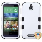 HTC Desire 510 Ivory White/Black Hybrid Case