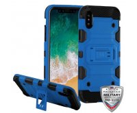 Blue/Black Storm Tank Hybrid Protector Cover [Military-Grade Certified]