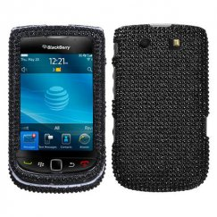 Blackberry 9800 Torch Black Diamante Case