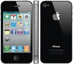 Apple iPhone 4 8GB Smartphone - Cricket Wireless - Black