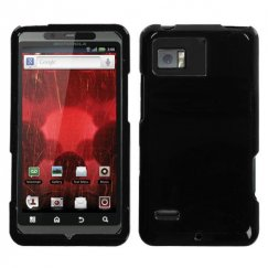 Motorola Droid Bionic Solid Black Case