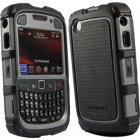 Ballistic BlackBerry 8500/9300 Curve Series Hard Core (HC) Series Case, Black/Gray, HA0443-M315