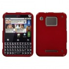 Motorola Charm Solid Red Phone Protector Cover