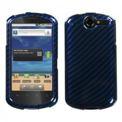 Huawei Impulse 4G Racing Fiber/Blue 2D Silver Case