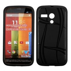 Motorola Moto G Black Basketball Texture Candy Skin Cover