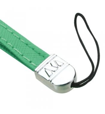 (5PCS) Teal Green Leather Hand Wrist Lanyard (7.5inch)