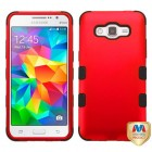 Samsung Galaxy Grand Prime Titanium Red/Black Hybrid Case