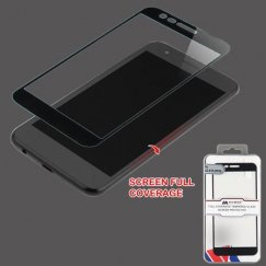 LG K10 Full Coverage Tempered Glass Screen Protector/Black
