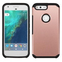 Google Pixel Rose Gold/Black Astronoot Case