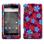 Motorola Droid 2 Flower Flake Phone Protector Cover