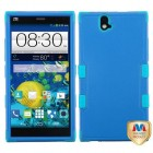 ZTE Grand X Max / Grand X Max Plus Natural Dark Blue/Tropical Teal Hybrid Case