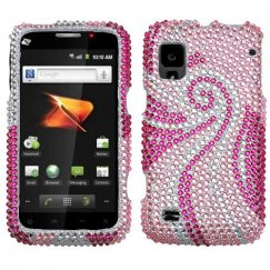 ZTE Warp N860 Phoenix Tail Diamante Case