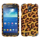 Samsung Galaxy S4 Active SGH-i537 Leopard Skin Phone Protector Cover