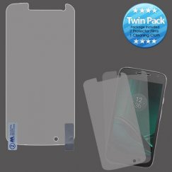 Motorola Moto G4 Play Screen Protector Twin Pack