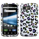 Motorola Atrix 2 Colorful Leopard Case