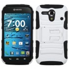 Kyocera Hydro Edge White/Black Advanced Armor Stand Case