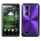 LG Thrill 4G Purple Cosmo Back Case