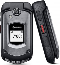 Kyocera DuraXTP E4281 Rugged Flip Phone for Sprint - Black
