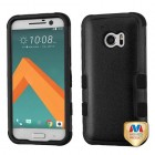 HTC 10 Natural Black/Black Hybrid Phone Protector Cover