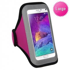 Vertical Pouch Universal Hot Pink Sport Armband