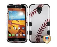 Baseball-Sports Collection/Black TUFF Hybrid Phone Protector Cover