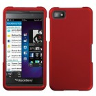Blackberry Z10 Titanium Solid Red Case