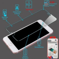 Apple iPhone 8 Plus Ultra-thin Tempered Glass Screen Protector (2.5D) (Thickness:0.1mm)