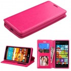 LG LS751 Volt 2 Hot Pink Wallet with Tray