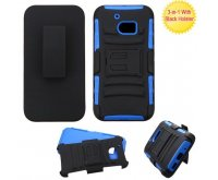 Black/Dark Blue Advanced Armor Stand Protector Cover (with Black Holster)