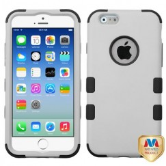 Apple iPhone 6/6s Rubberized Gray/Black Hybrid Case