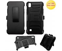 Black/Black Advanced Armor Stand Protector Cover (with Black Holster)