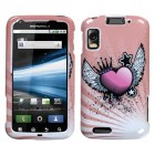 Motorola Atrix 4G Crowned Heart Phone Protector Cover