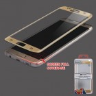 Samsung Galaxy S7 Edge Full Coverage Tempered Glass Screen Protector - Gold