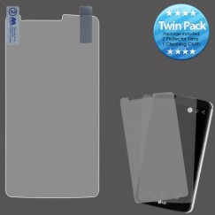 LG G Stylo 3 Screen Protector Twin Pack
