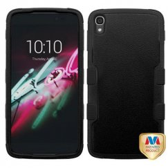 Alcatel One Touch Idol 3 (5.5) Natural Black/Black Hybrid Case