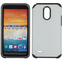 LG G Stylo 3 Silver/Black Astronoot Case