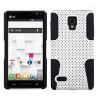 LG Optimus L9 White/Black Astronoot Case
