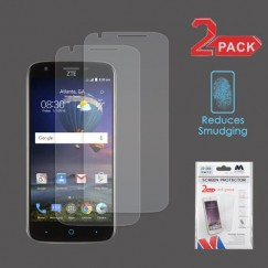 ZTE Grand X 3 / Warp 7 Anti-grease LCD Screen Protector - Clear - 2-pack -Strong Adhesion & Ultra-thin