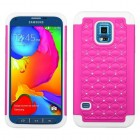 Samsung Galaxy S5 Sport Hot Pink/Solid White FullStar Case