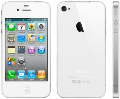 Apple iPhone 4 8GB Smartphone - Straight Talk Wireless - White