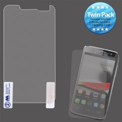 Alcatel One Touch Evolve Screen Protector Twin Pack