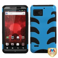 Motorola Droid Bionic Natural Turquoise Fishbone Case