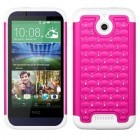 HTC Desire 510 Hot Pink/Solid White FullStar Case
